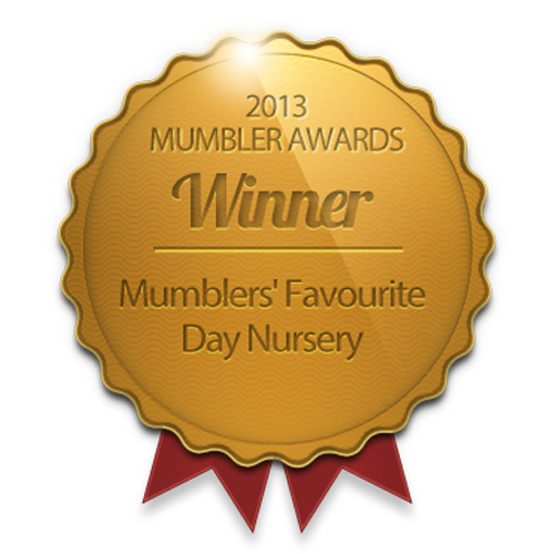 Mumbler Award 2013 Harrogate and District Favourite Day Nursery